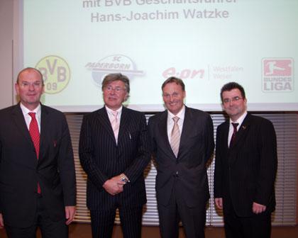 Beim Lizensierung-Gipfel in Paderborn