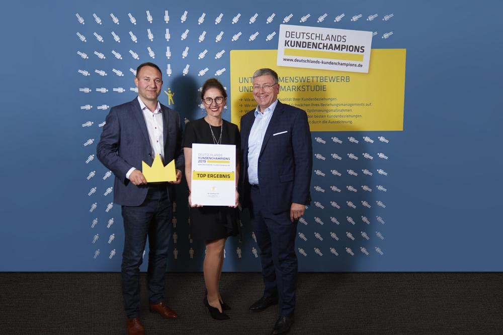 """ADLER Modemärkte AG wird erneut als """"Kundenchampion"""" ausgezeichnet"""