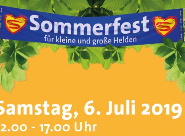 Sommerfest für kleine und große Helden