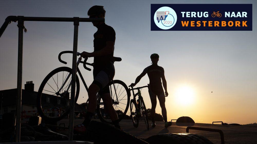 """Symbolbild für die friedenspolitische Radtour """"Zurück nach Westerbork/Terug naar Westerbork""""."""