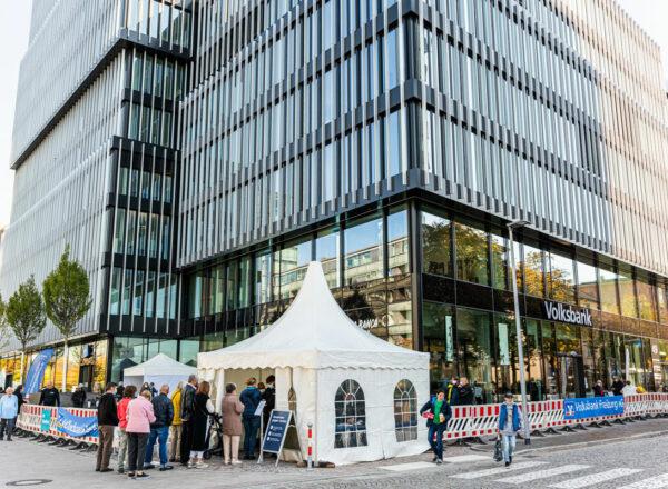Mehr als 1.300 Besucherinnen und Besucher am Tag der offenen Tür des Volksbank-Areals